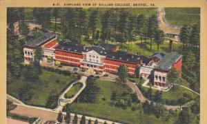 15422 VA Bristol   Aerial View  of Sullins College