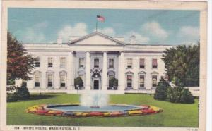 Washington D C The White House Curteich