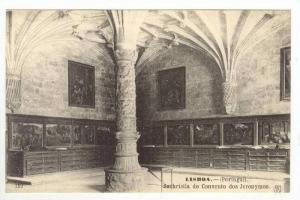 Lisboa.- (Portugal), Sachristia do Convento dos Jeronymos, 00-10s