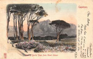 South Africa Cape Town Devil`s Peak Groot Schuur postcard