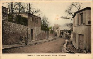 CPA PARIS (18e) MONTMARTRE Rue de l'Abreuvoir. (539572)