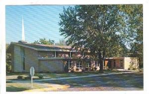 Exterior, First Christian Church, Nowata, Oklahoma, 40-60s