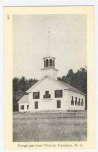Congregational Church, Campton, N.H. 40-50s