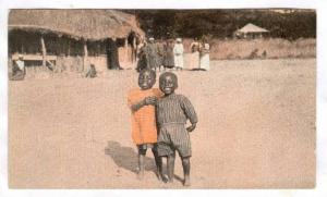 African Children Smiling, Africa, 1900-1910s