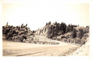 MacDonald Pass Montana~Highway~US Route 12~Hartley Photo~1940s RPPC