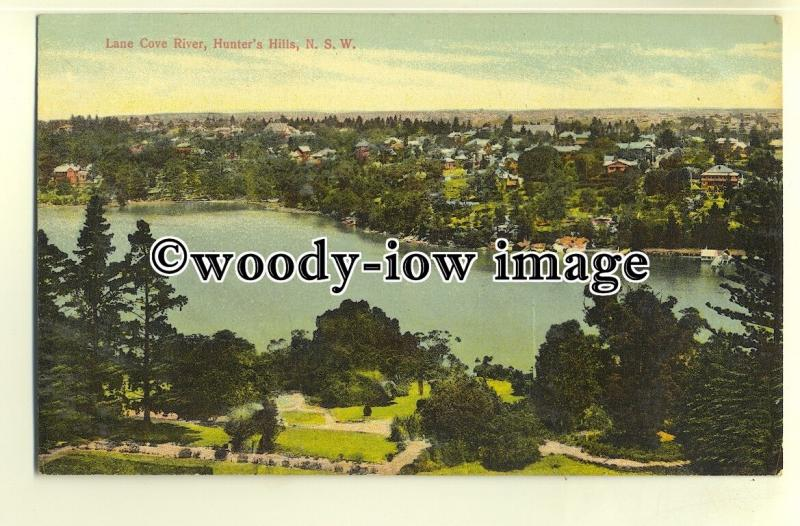 ft1328 - Australia - Sydney , Lane Cover River , Hunter's Hills - postcard