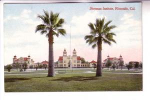 Sherman Institute, Riverside, California, M Rieder