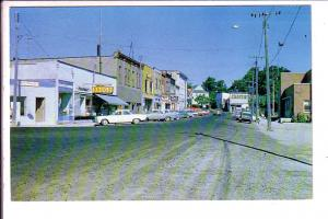 Water Street, Downtown, Little Current, Manitoulin Island, Ontario, 1965