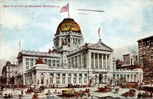 Illinois Chicago New Post Office Building 1909