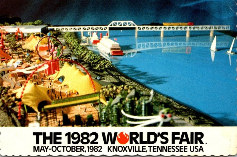 Tennessee KNoxville 1982 World's Fair The Family Funfair Amusement Area