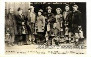 Real Photo - Grant Party Virginia City NV Unused