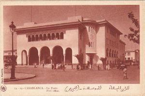 Morocco Casablanca La Poste Post Office