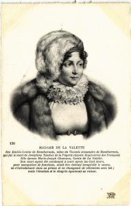 CPA Madame de la Valette Royalty Nobelty (314594)