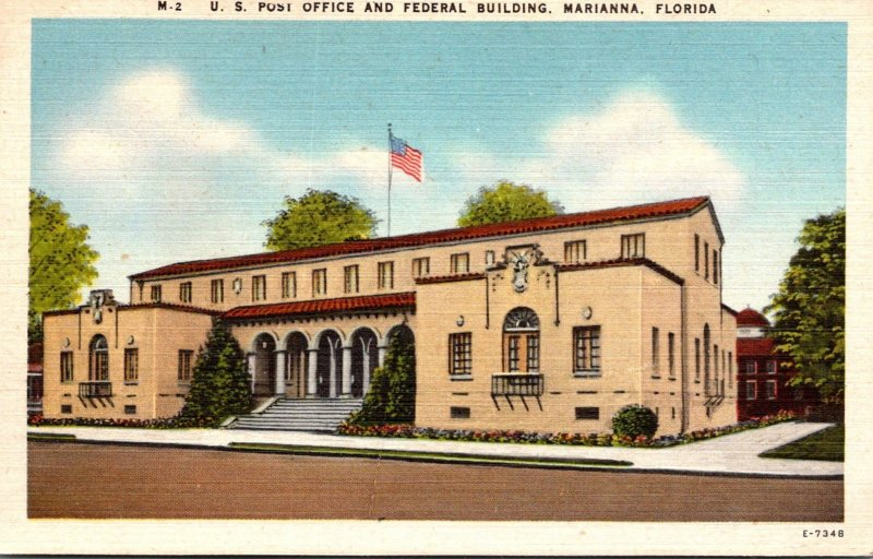 Florida Marianna Post Office and Federal Building