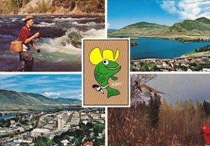 Canada Multi View Kamloops The Sportman's Paradise British Columbia