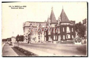 Old Postcard La Baule Sea Boulevard Wilson