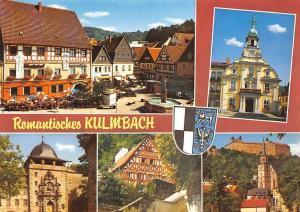 Kulmbach Frankens Biermetropole Rathaus Schloss Brunnen Terrace Fountain