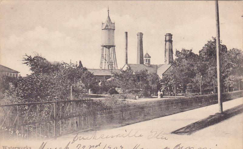 Waterworks , JACKSONVILLE , Florida , Pre-1907