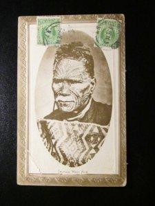 Tawhaio- Moari King- Moko face tattoos- 1914