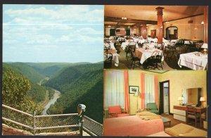 PA Penn-Wells Hotel WELLSBORO - Pennsylvania Grand Canyon - Chrome - 1950s-1970s
