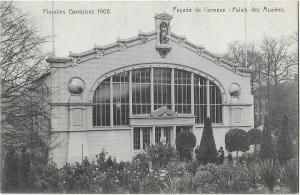 France Floralies Gantoises 1908 Facade de L'Annexe palais des Azalees 01.25