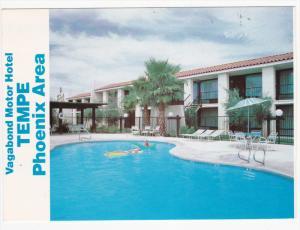 Swimming Pool, Vagabond Motor Hotel, PHOENIX, Arizona, PU-1982