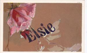 Name Card Elsie