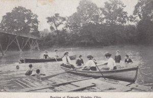 Boating at EPWORTH HEIGHTS, Ohio, 1909