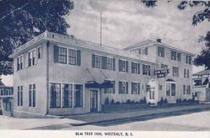 Rhode Island Westerly Elm Tree Inn
