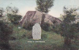 Grave of John Brown, Lake Placid, New York, 1900-10s