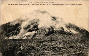 CPA Martinique. Le Mont Pelé. Le Sommet du Dome MADAGASCAR (625364)