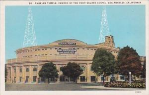 California Los Angeles Angelus Temple Church Of The Four Square Gospel