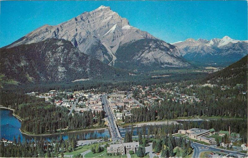 Canada Canadian Rockies Banff with Cascade Mountain