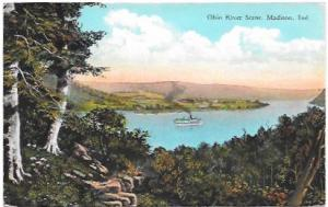 Ohio River scene, Madison, Indiana