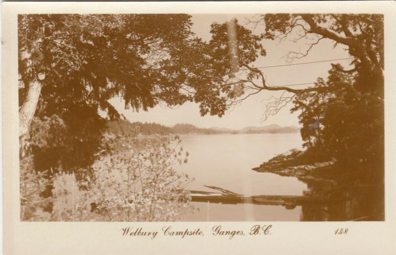 RP: GANGES , B.C. , Canada , 1920-40s; Welbury Campsite
