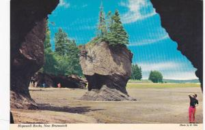 Hopewell Rocks , New Brunswick , Canada , 60-80s