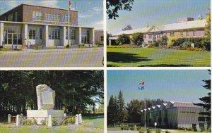 Canada Post Office Hospital Multi View Brooks Alberta