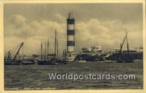Harbour & Lighthouse Alexandria Eqypt Unused
