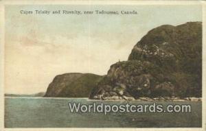Tadoussac Canada, du Canada Capes Trinity & Eternity  Capes Trinity & Eternity