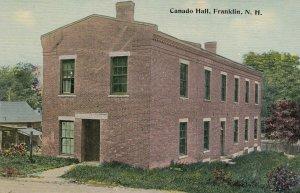FRANKLIN , New Hampshire , 00-10s ; Canado Hall