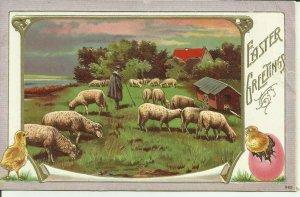 Easter Greetings--Embossed