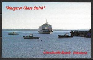 Maine, Lincolnville Beach - Isleboro - The Ferry - [ME-033]