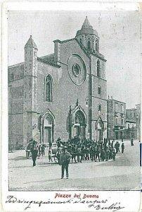 CARTOLINA d'Epoca - FOGGIA: LUCERA: Feste naugurazione Impianto elettrico 1903