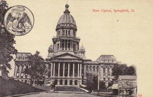 SPRINGFIELD , Illinois , 1900-10s ; State Capitol verision 2