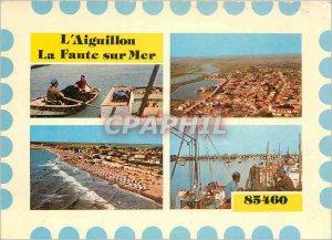 Modern Postcard L'Aiguillon La Faute sur Mer (Vendee)
