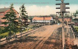 BREMERTON, Washington, 1900-10s ; Main Street , Navy Yard
