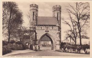 Norman Arch, Manningham Park, Bradford (Yorkshire), England, UK, 1910-1920s