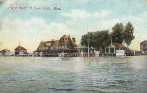 ST. CLAIR FLATS , Michigan ,  1909 ; Old Club