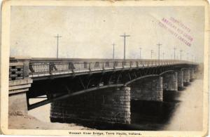 WABASH RIVER BRIDGE TERRE HAUTE INDIANA