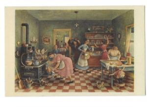 Thanksgiving Painted by Doris Lee Pr Arthur Jaffe Heliochrome Co